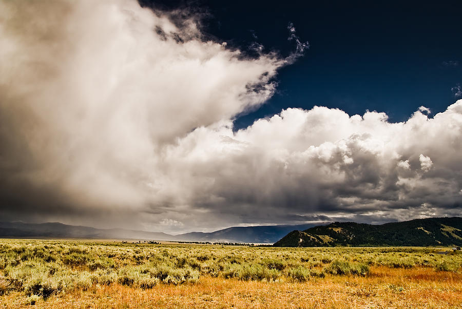 Wyoming Photograph - Wyoming Sky by Patrick  Flynn