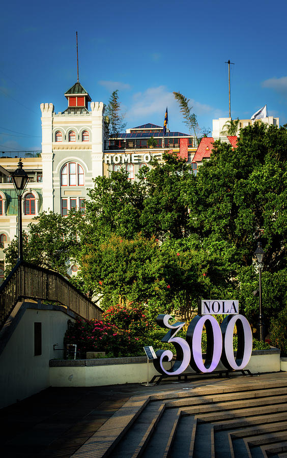 300 Years Of New Orleans Photograph by Greg Mimbs