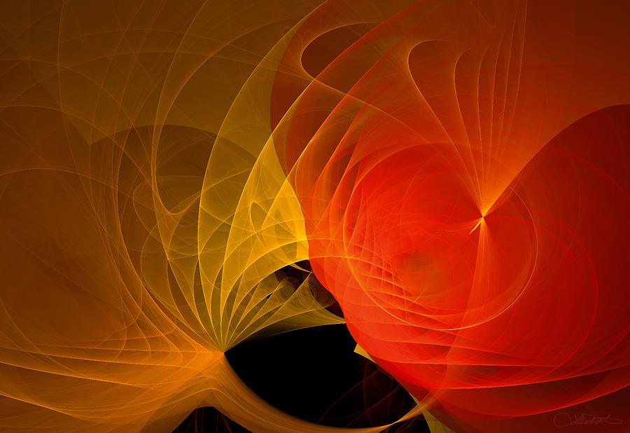 Abstract Digital Art - 302 by Lar Matre