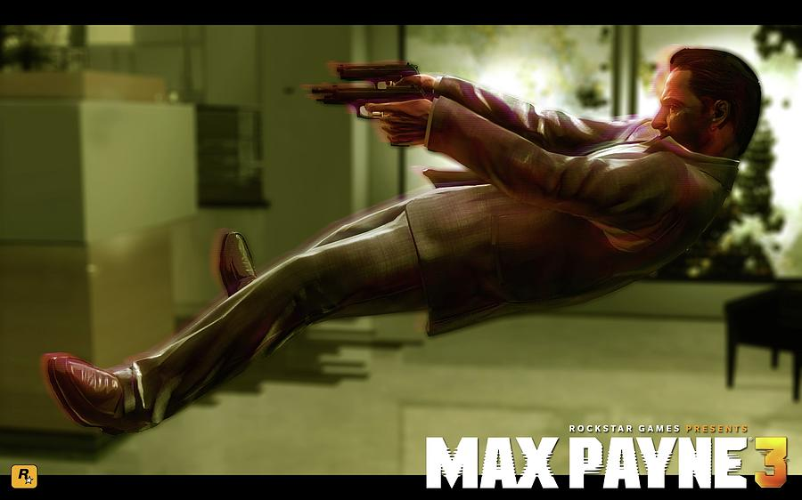 30839 Max Payne 3 Digital Art By Mery Moon