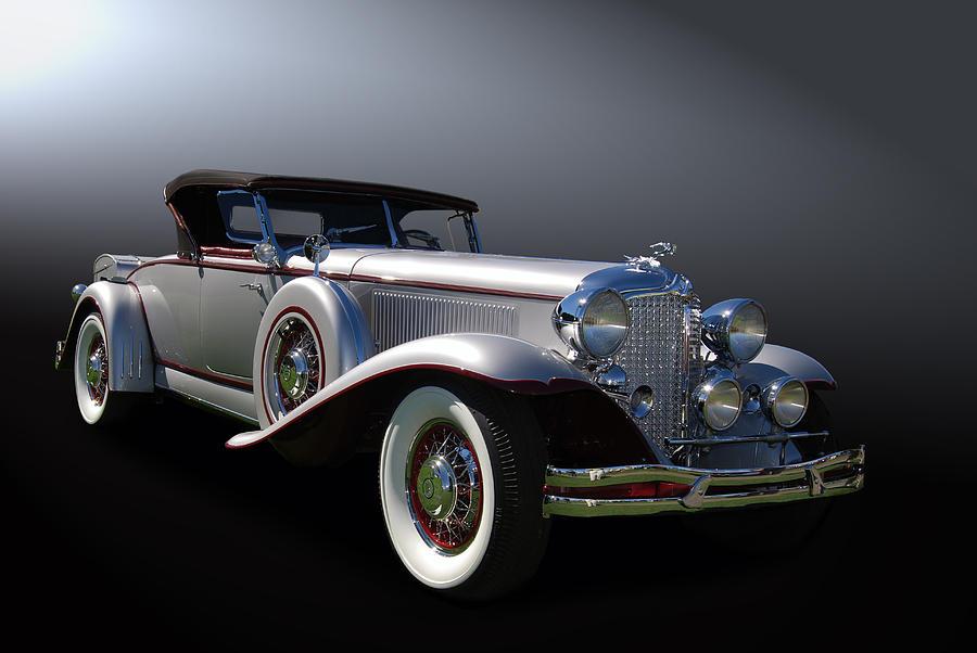 Chrysler Photograph - 31 Chrysler Imperial by Bill Dutting
