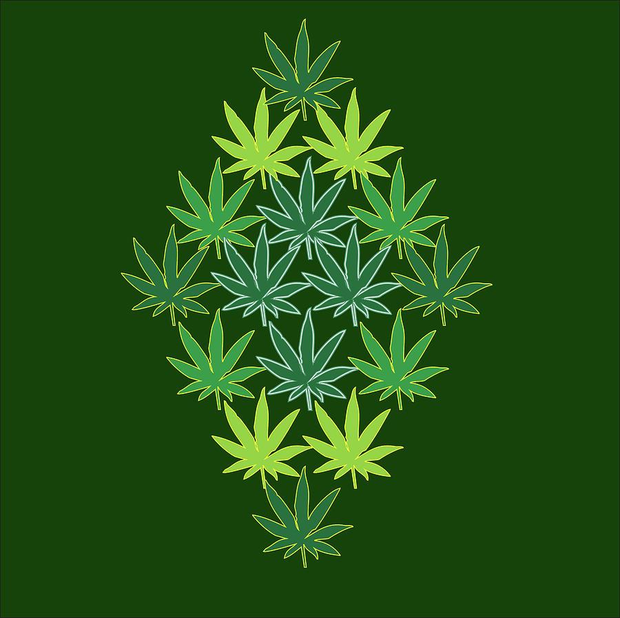 Weed Digital Art - 31 by Larry Waitz
