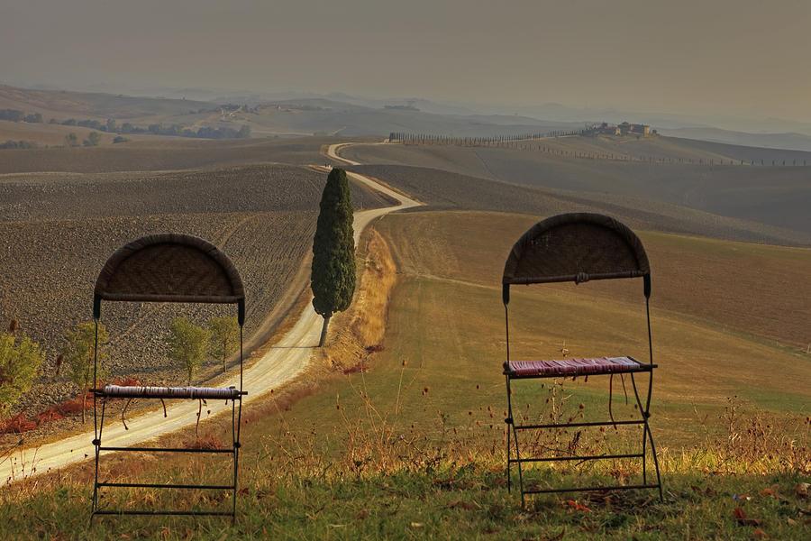 Val D'orcia Photograph - Tuscany by Joana Kruse