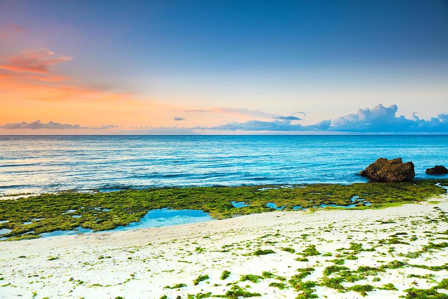 Beach Photograph - Sunrise by MotHaiBaPhoto Prints