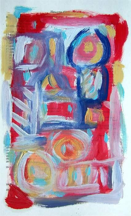 Abstract Painting - Abstract On Paper No. 31 by Michael Henderson