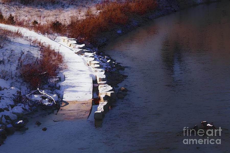 Milwaukee Digital Art - 33rd And Canal by David Blank