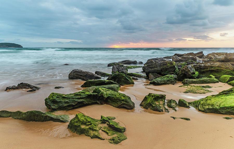 Killcare Photograph - Dawn Seascape by Merrillie Redden