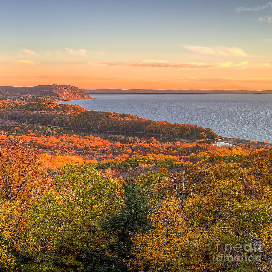 Sleeping Photograph - Fall In Sleeping Bear Dunes by Twenty Two North Photography