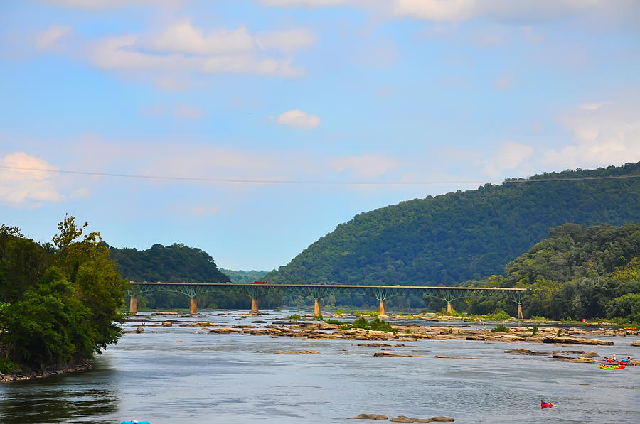 340 Photograph - 340 Bridge Harpers Ferry by Bill Cannon
