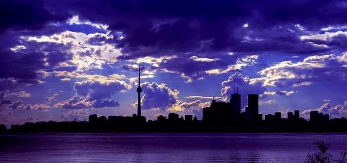 Sky Photograph - Toronto sky by Sean Xiao