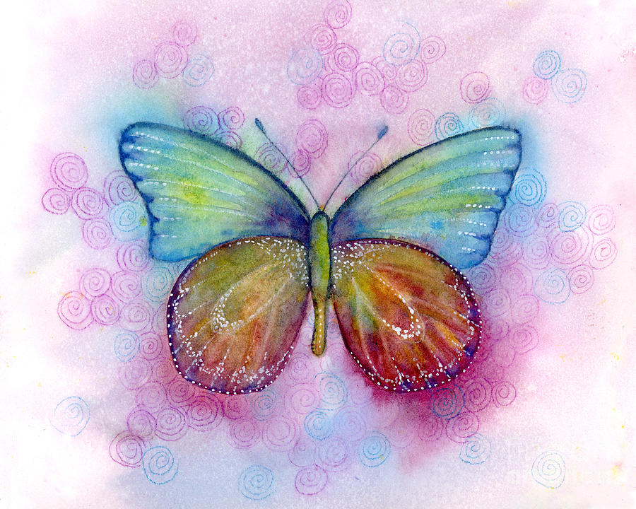 35 Blessings Butterfly by Amy Kirkpatrick