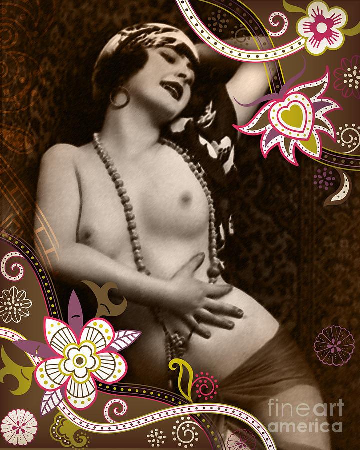 Vintage Photograph - Goddess by Chris Andruskiewicz