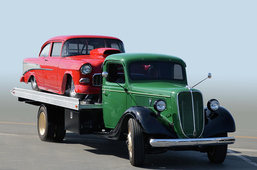 36 Ford Hauler by Bill Dutting