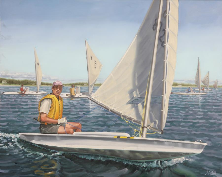 Sailing Portrait by Gary M Long