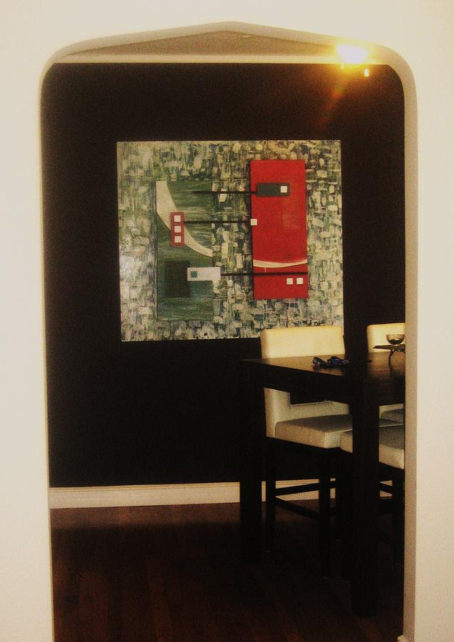 Untitled Painting by Jessica  De la Torre