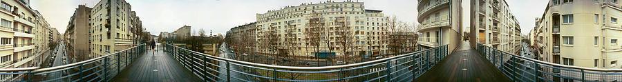 360 Panoramas Photograph - 360 Panoramic Photograph of Paris by Jeff Schomay