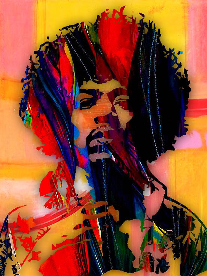 Jimi Hendrix Mixed Media - Jimi Hendrix Collection by Marvin Blaine