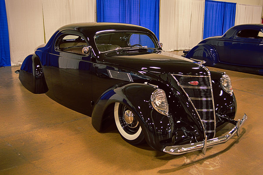 Canvas Lincoln Tech >> 37 Lincoln Zephyr Coupe Photograph by Bill Dutting