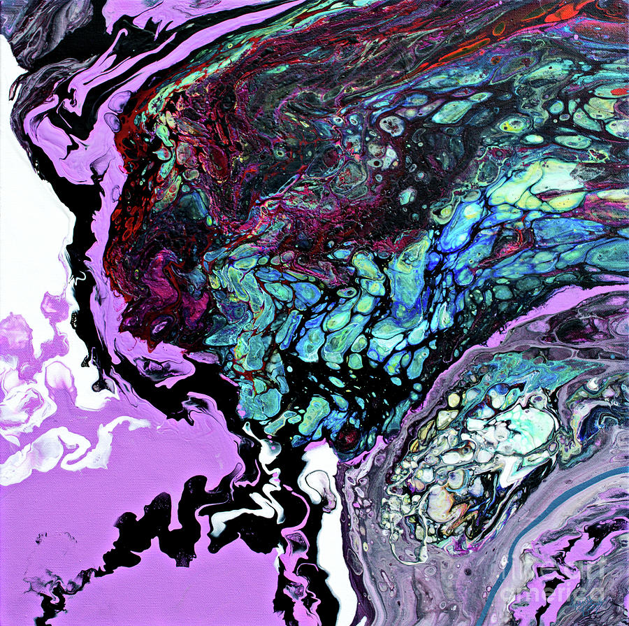 #378 Painting by Priscilla Batzell Expressionist Art Studio Gallery