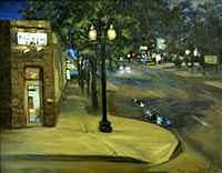 Wheat Ridge Painting - 38th Ave by Ed  Slack