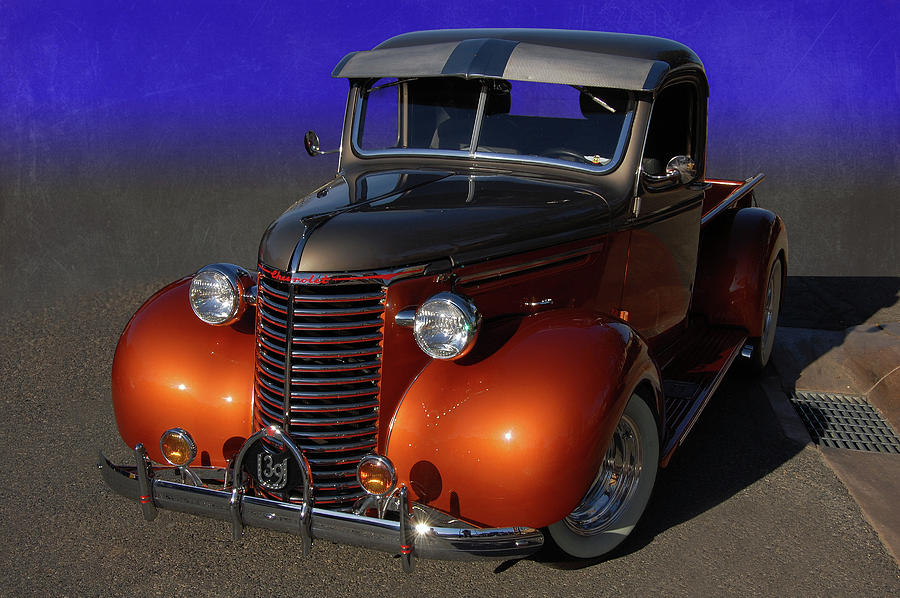 1939 Photograph - 39 Chevy Pickup by Bill Dutting