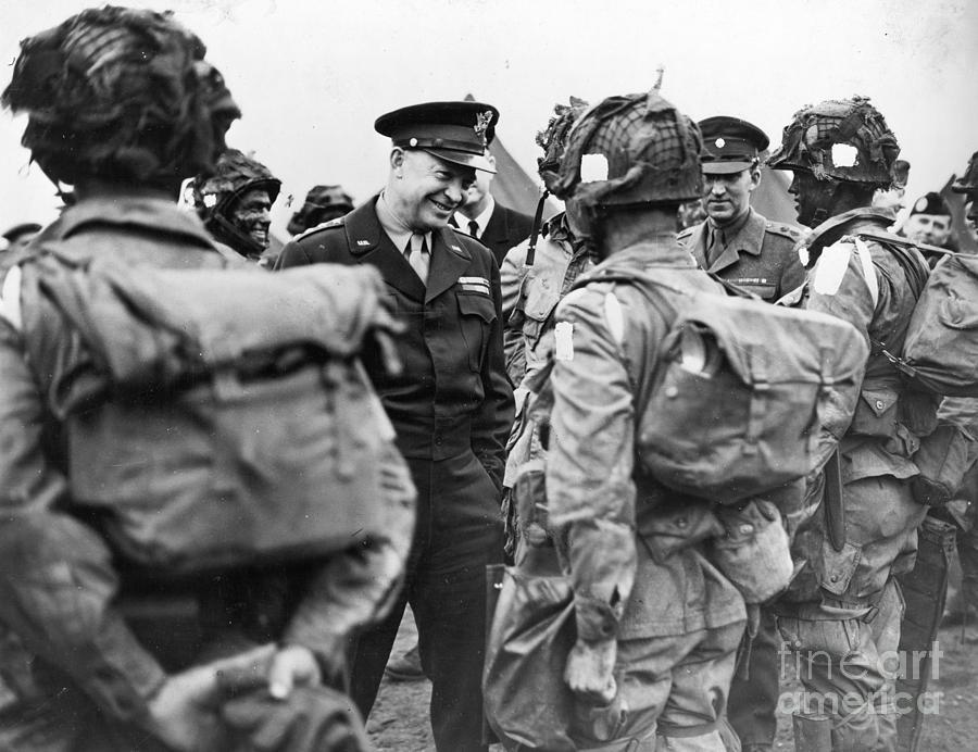 1944 Photograph - Dwight D. Eisenhower by Granger