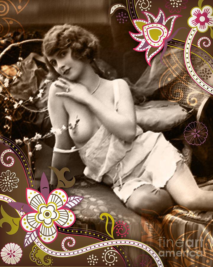 Nostalgic Seduction Photograph - Goddess by Chris Andruskiewicz