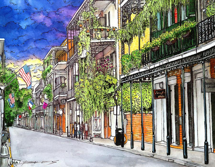 New Orleans Painting - 39 by John Boles
