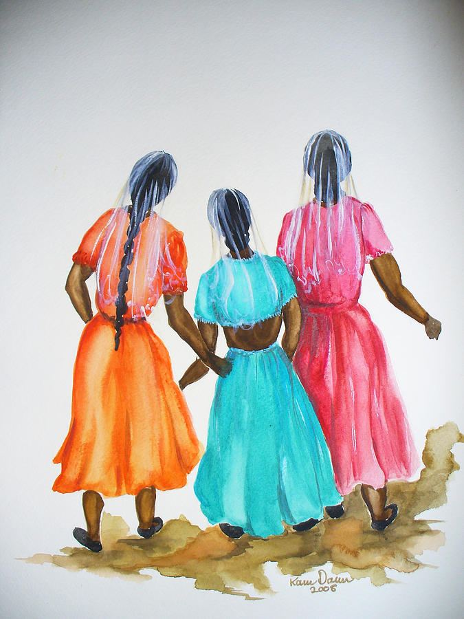 3bff Painting by Karin  Dawn Kelshall- Best