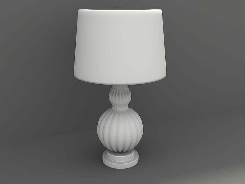 Cad Design Services Digital Art - 3d Modeling Of Night Lamp by Na