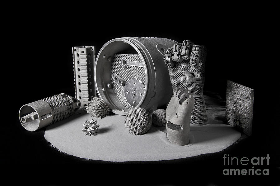Science Photograph - 3d Printing, Additive Manufacturing by Science Source