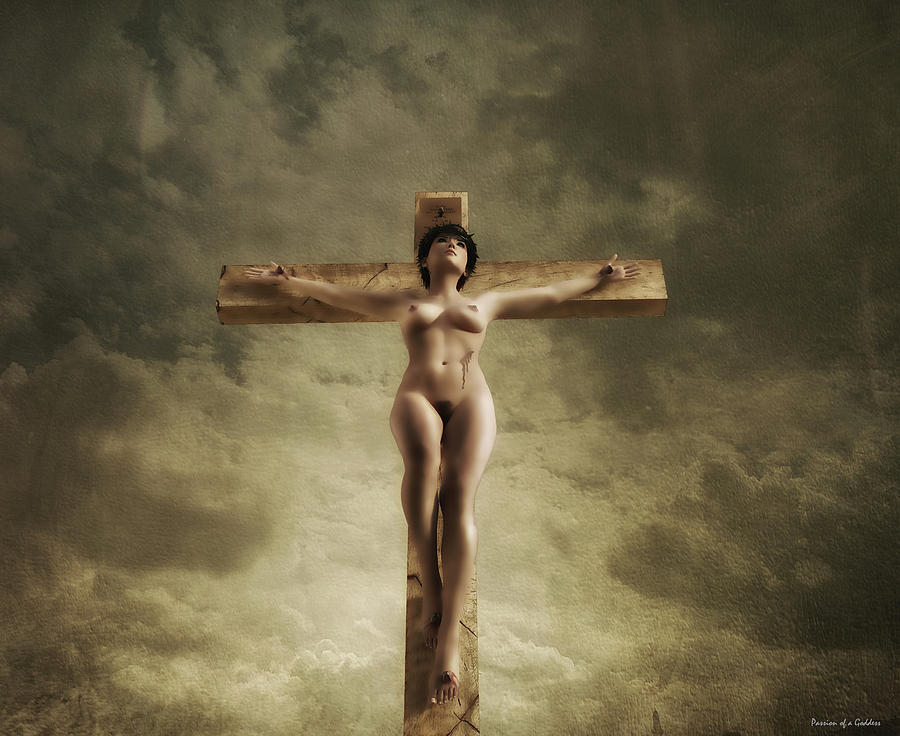 The crucifixion of christ nudity censored for site