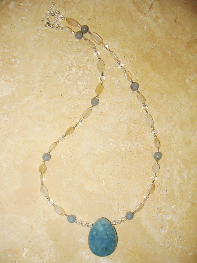Handmade Jewelry - 3rd Eye Chakra Necklace by Treasure-Tob E