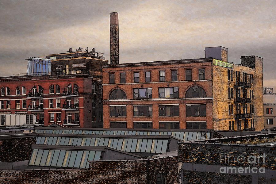 Condo Digital Art - 3rd Ward Condos by David Blank