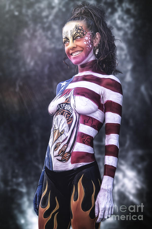 Body Painting Photograph - ..... by Traven Milovich