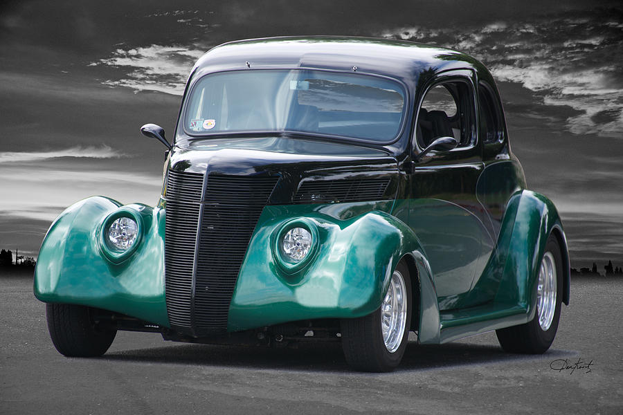 1936 Ford Coupe Photograph