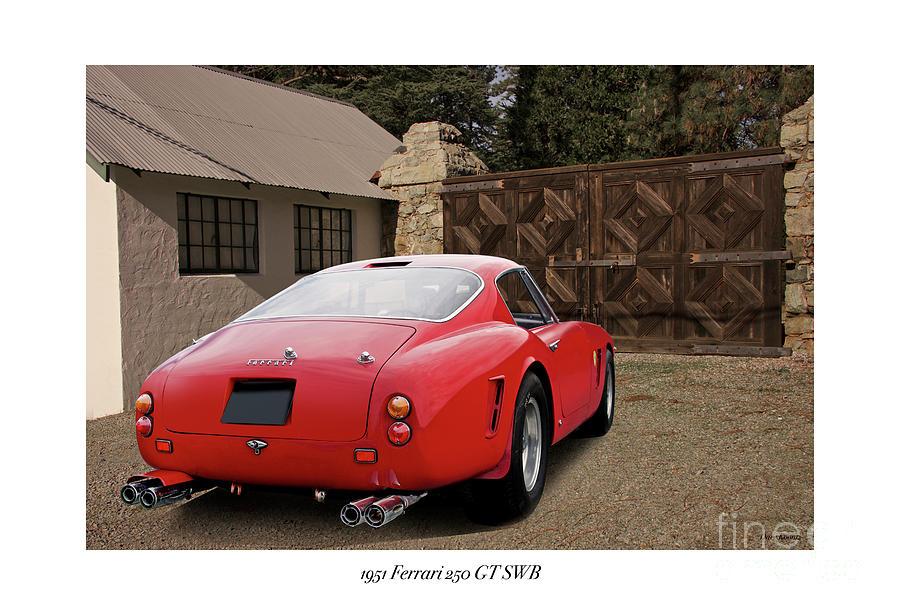 1961 Ferrari 250 Gt Swb Photograph