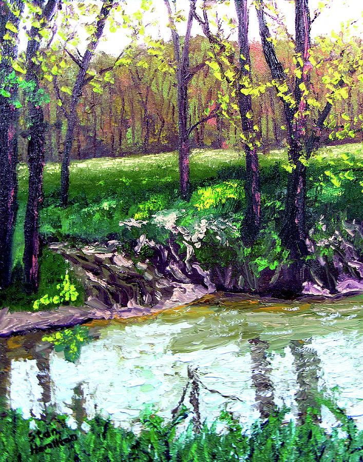 Plein Air Painting - 4 28 by Stan Hamilton
