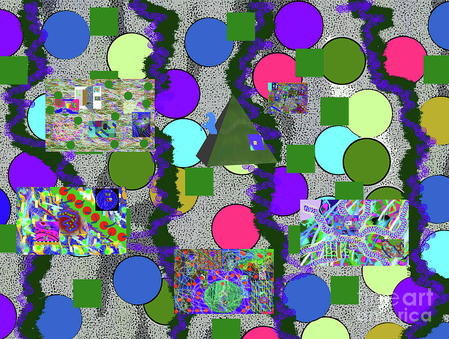 4-8-2015abcdefghijklm Digital Art by Walter Paul Bebirian