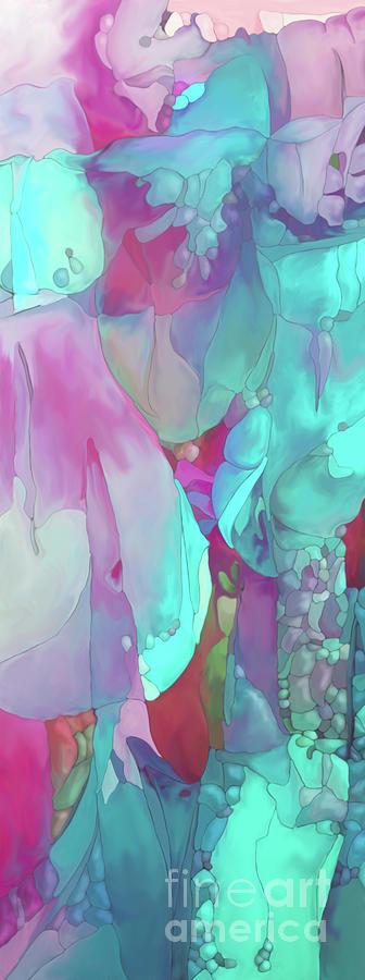 Abstract Flower Digital Art