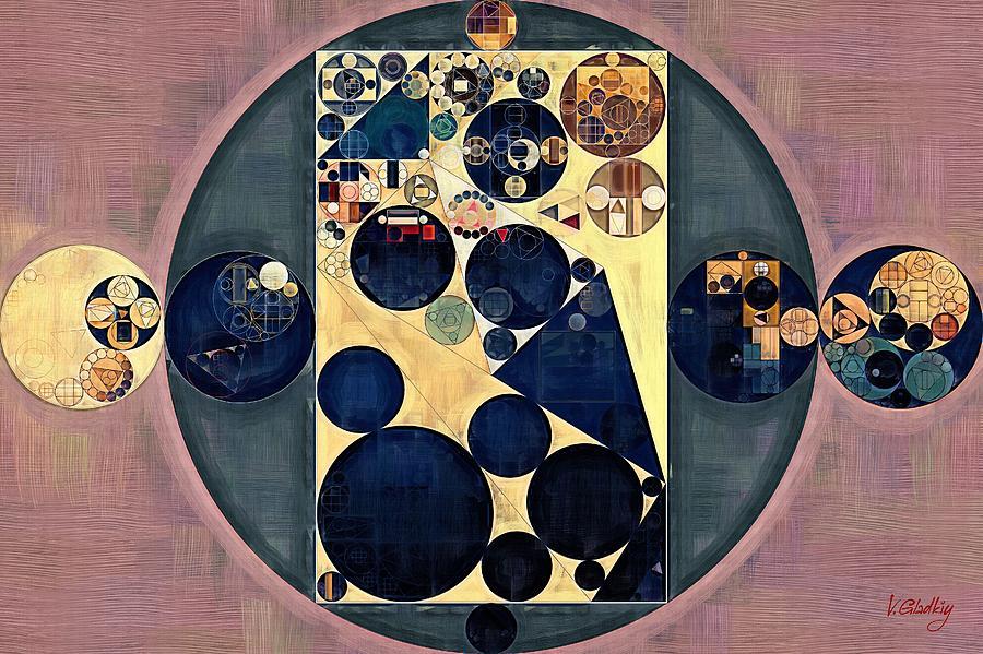 Black Pearl Digital Art - Abstract Painting - New Tan by Vitaliy Gladkiy