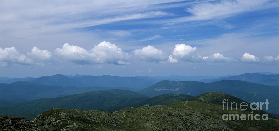 Appalachian Trail Photograph - Appalachian Trail - White Mountains New Hampshire Usa by Erin Paul Donovan