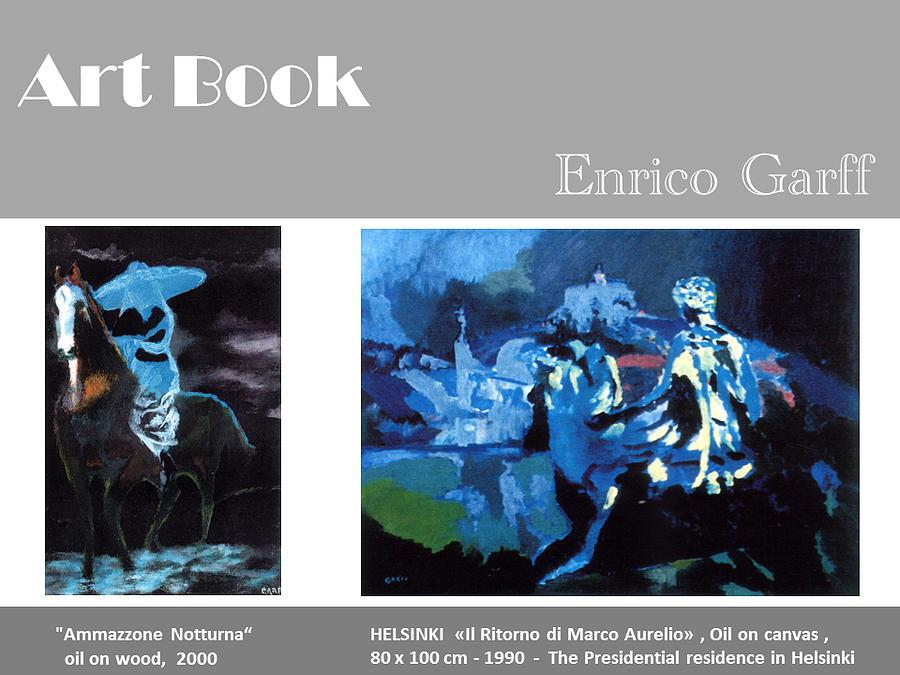 Marcus Aurelius Painting - Art Book by Enrico Garff