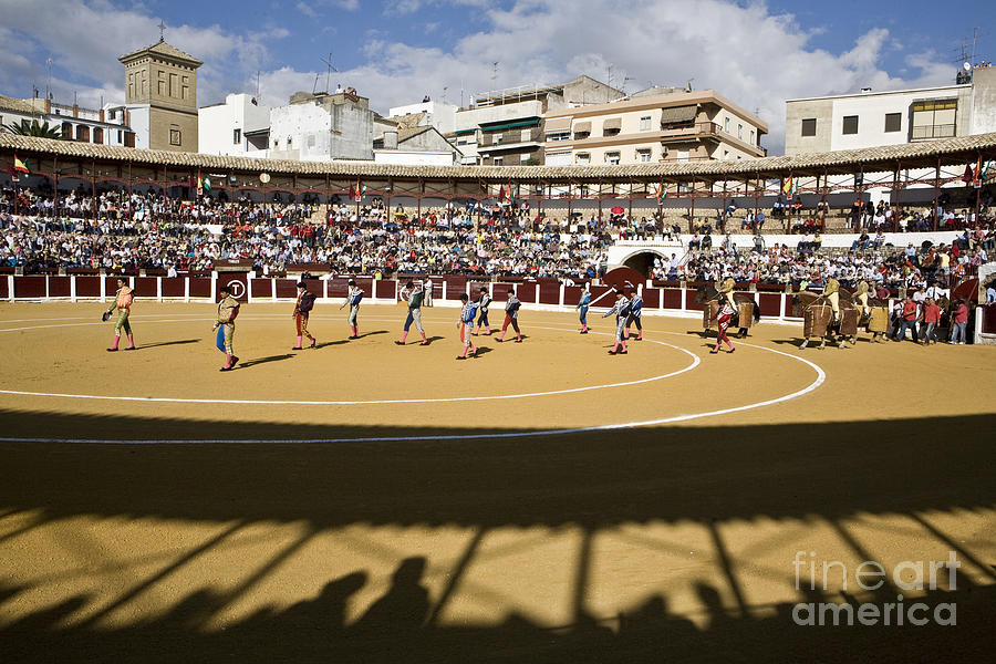 Ubeda Photograph - art in the Spanish bullfighting by Pipe Caparros cruz