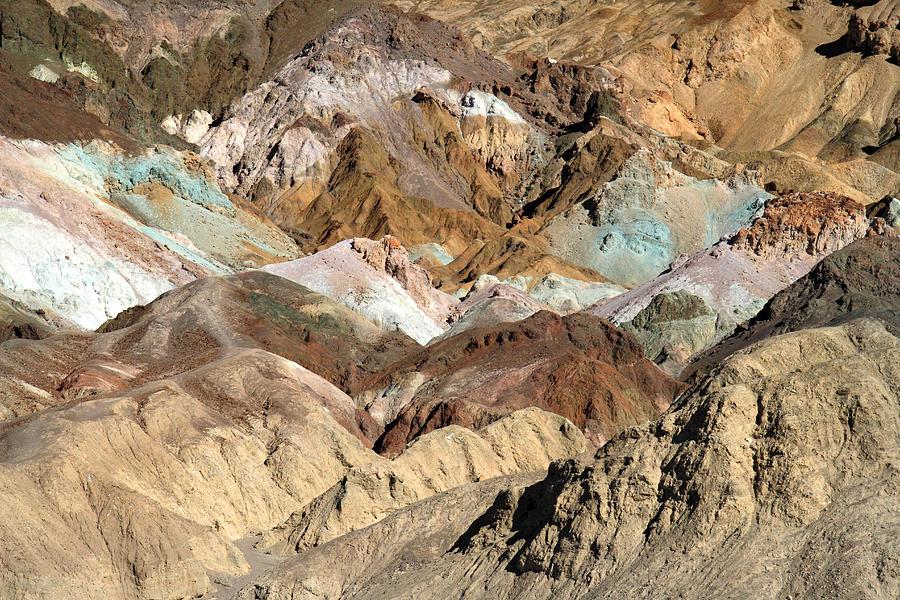 Artist Palette Death Valley National Park Photograph