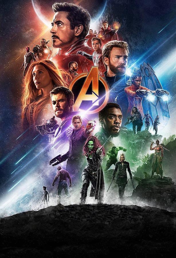 Iron Man Digital Art - Avengers Infinity War by Geek N Rock