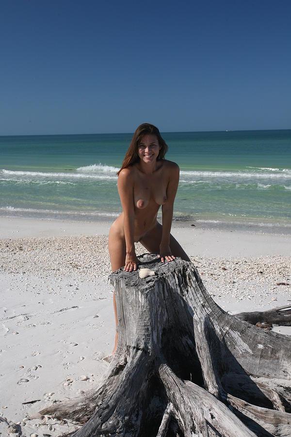 Beach Girl Photograph By Lucky Cole