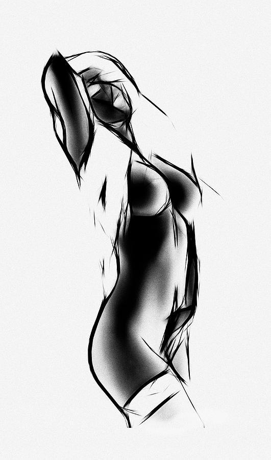 black and white painting by steve k rh fineartamerica com