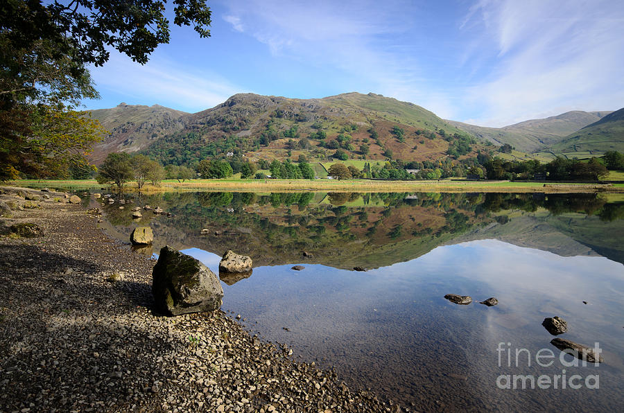 Cumbria Photograph - Brothers Water by Smart Aviation
