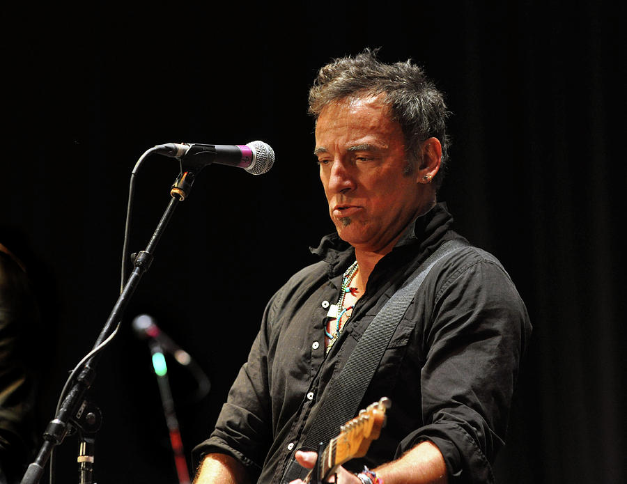 Springsteen Photograph - Bruce Springsteen by Jeff Ross
